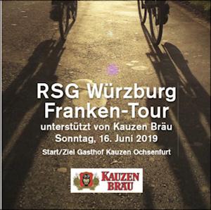 RSG Würzburg Franken-Tour am Sonntag, 16. Juni 2019