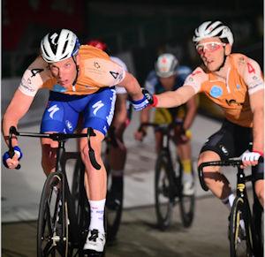 Belgisches Duo kämpft sich bei den Sixdays Bremen an die Spitze