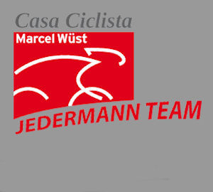 Team Casa Ciclista feiert Miss Germany