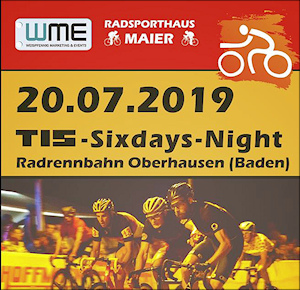 15. TIS-Sixdays-Night in Oberhausen