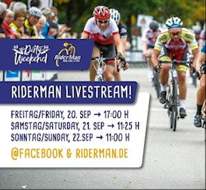 RiderMan 2019 Livestream – alle 3 Tage LIVE